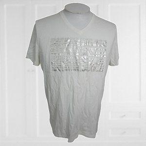 CK One Calvin Klein New York T Shirt V Neck graphic